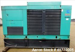 Used- Cummins 200 kW Standby Diesel Generator Set, Model 200DFAA
