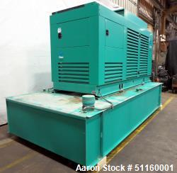 Used-Cummins 400 kW standby diesel generator set ModelDFCE, SN-J000159968. Cummins NTA855-G5 engine rated 605HP at 1800 RPM,...
