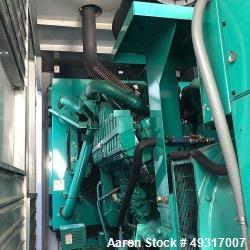 Used- Cummins DFHD 1000 kW Standby (900 kW prime) Diesel Generator Set