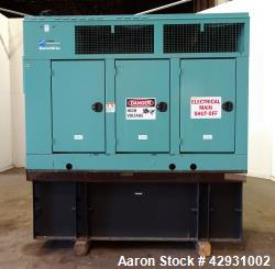 Used- Cummins 80 kW Diesel Generator Set