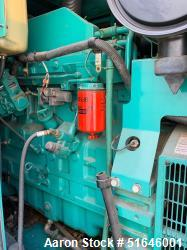 Used-Cummins 100 kW standby (150 kW prime) Diesel generator set Model DGFA-5634618 , SN-J030560158  1/60/120/208V,Power Comm...