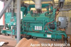 Used- Cummins Diesel Generator, 2000 kw, Model DQKAB-6123321