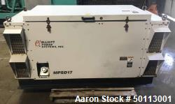 Used- Elliot Power Systems MPSD 17 Diesel Generator, 15 KW