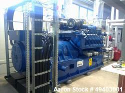 Unused- MWM Gas Generator
