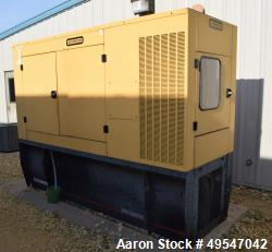 Used- Olympian 125KW Back Up Diesel Generator, Model D125P1, Serial# OLY00000CNAT00653, Built 2002. 157 KVA, 480 volt, appro...