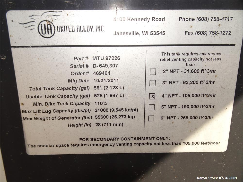 Used- MTU 250kW Prime Diesel Generator Set, Model DP00250D65SRAH1574