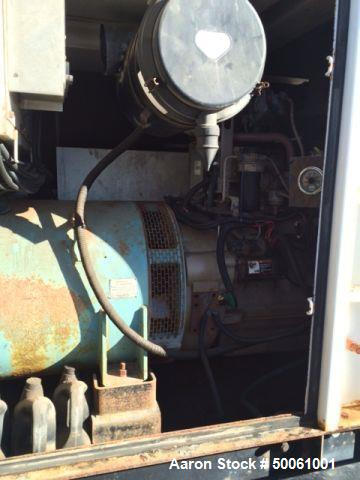 Used- Multiquip DCA180SSJU Towable Generator. 144 KW Prime/ 158 KW Standby.