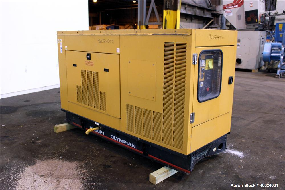 Used- CAT / Olympian 100 kW standby (90 kW prime)