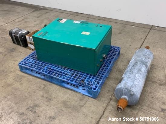 Used- Onan Natural 55 KW Gas Generator. Model 55SKBL291838