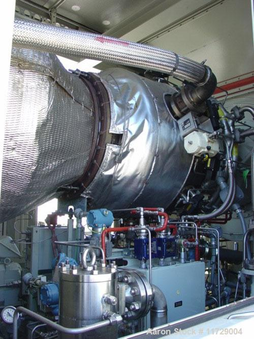 Used-5200 kW Solar Taurus 60 mobile mounted gas turbine generating unit. 3/60/13.8 kv. Primary fuel natural gas. Equipped wi...