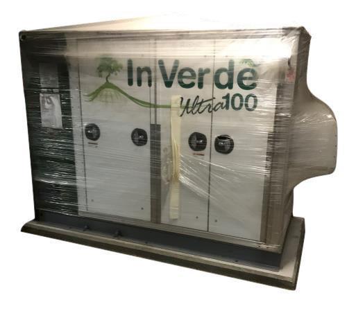 Unused- Tecogen Inverde Natural Gas Engine Generator, Model INV-100, 100 kW.
