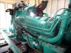 Used- Cummins 1500 kW Diesel Generator, 1500DFLE. Cummins KTA50-G9 engine