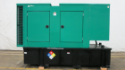 Used- Cummins 100 KW, 125 KVA, Diesel Generator Set