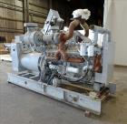 Used- Detroit Diesel Spectrum 800 kW Standby Diesel Generator Set, Model 800DS60