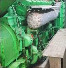 Used- Jenbacher CHP Diesel Generator