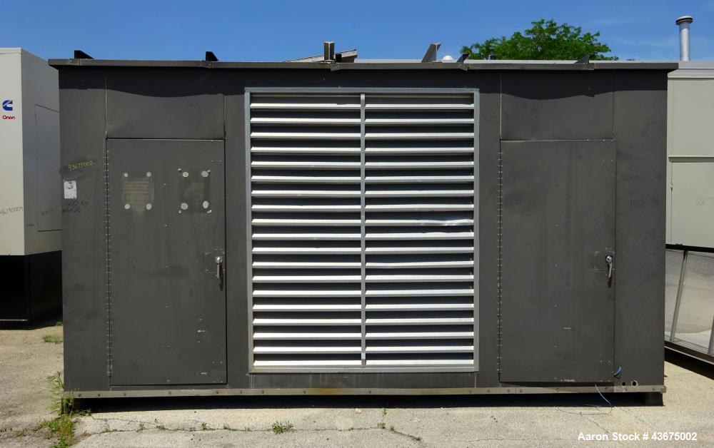 Used generator enclosure last used on cummins m - How long does a generator last ...