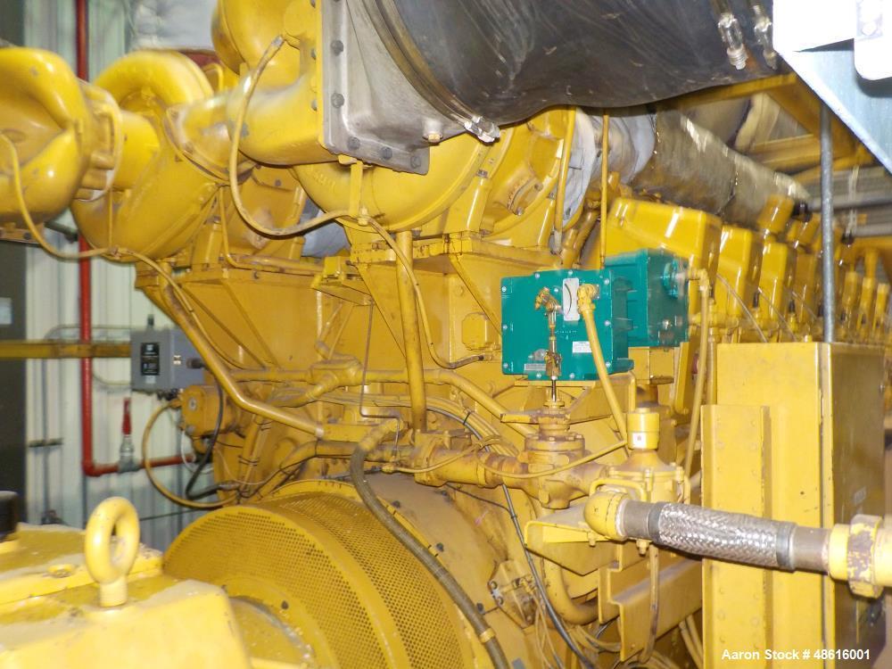 Used- Caterpillar Engine Type: G3616 Spark Ignite