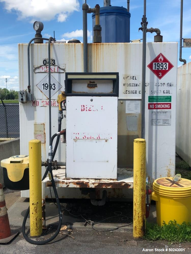 Used- 5000 Gallon Double Lined Fuel Tank