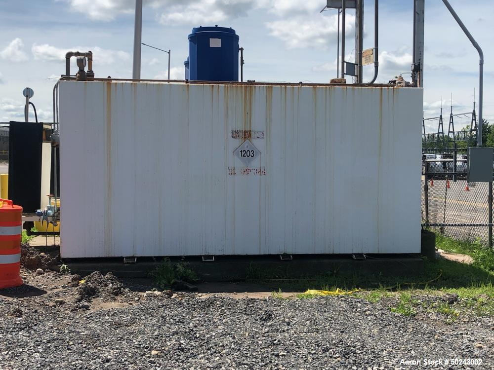 Used- 5000 Gallon Double Lined Fuel Tank.