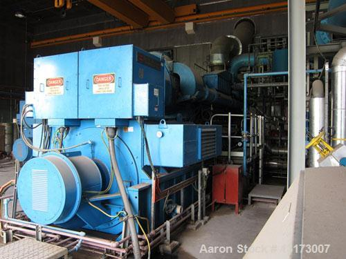 Used-The Louis Allis Company/Fairbanks Morse Dual Fuel Generator, Model 98.000.81/3.
