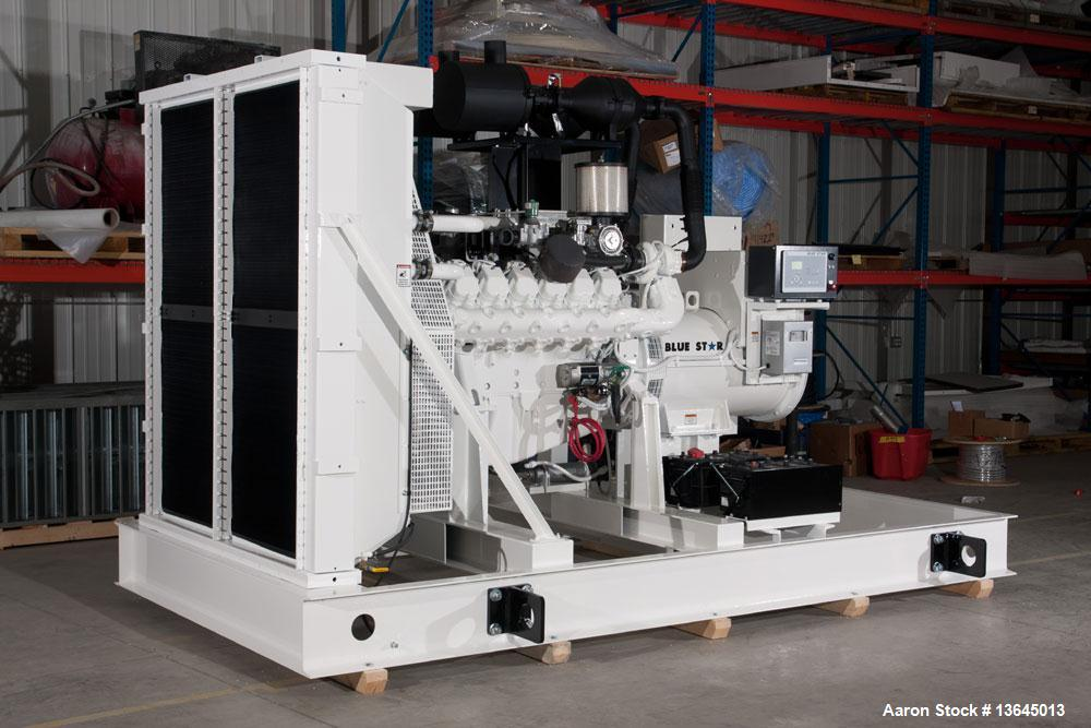 Blue Star Power Systems 400 kW Standby Natural Gas Generator Set, NGE model D219