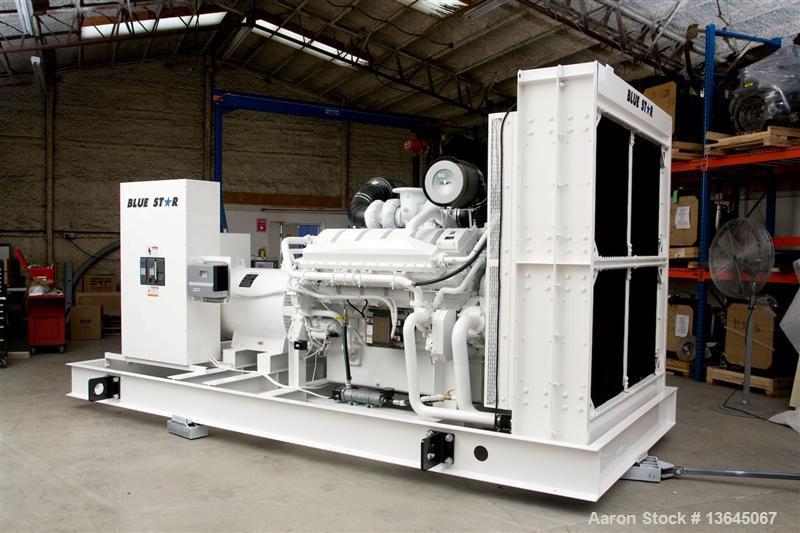 Blue Star Power Systems 1000 kW Diesel Generator Set, Model S12H-Y2PTAW-1.