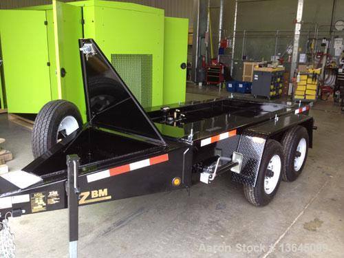 New- Blue Star Power Systems 100 kW trailer mounted John Deere 4045HFG93 engine