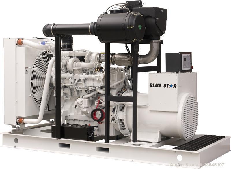 Blue Star Power Systems 250 kW Diesel Generator Set, John Deere Model 6090HFG94.