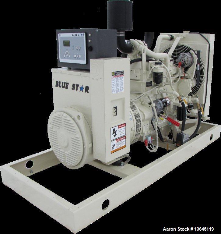 Blue Star Power Systems 60 kW Diesel Generator, John Deere  4045TF280 EPA Tier 3