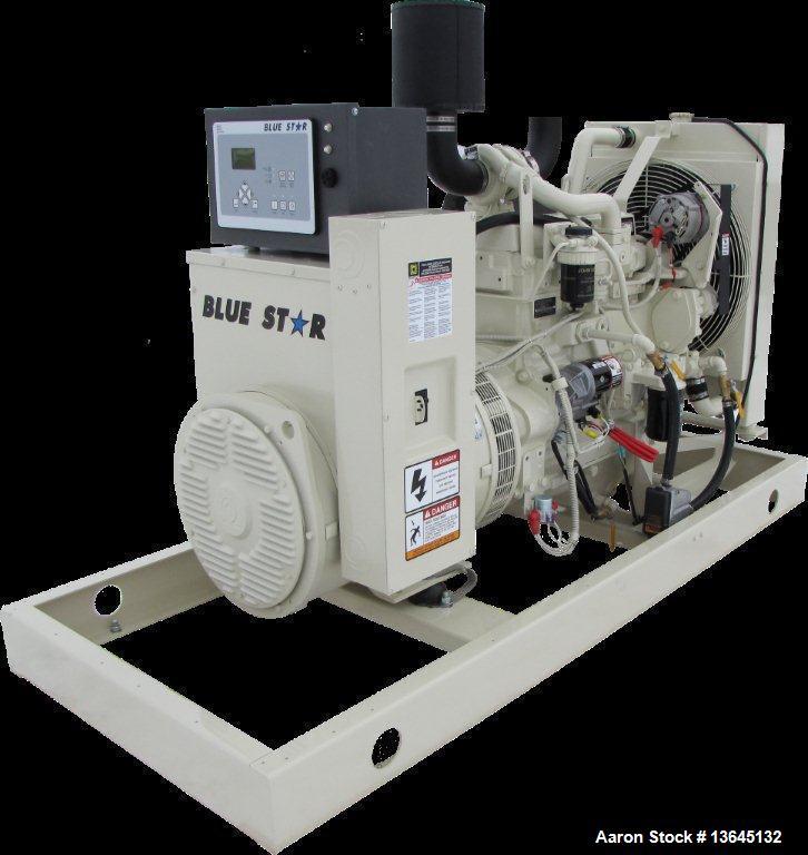 Blue Star Power Systems 50 kW Diesel Generator, John Deere 4045TF280 EPA Tier 3