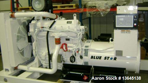 New-Blue Star Power Systems 350 kW   diesel generator, John Deere 613HFG84
