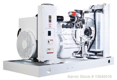 Unused-NEW Cummins powered 325 kW natural gas fueled generator set. Cummins GTA19-G1 engine. Marathon generator 3/60/277-480...