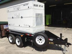 New- Blue Star Power Systems 100 kW trailer mounted John Deere 4045HFG93 engine