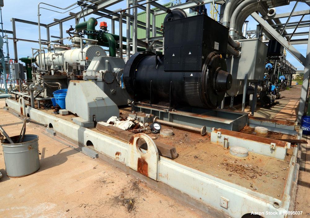 Used- Elliott Mulit-Stage Steam Turbine, Model 2DYRPE3