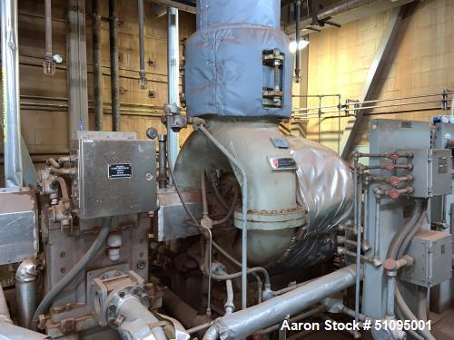 Used- Elliott Steam Turbine