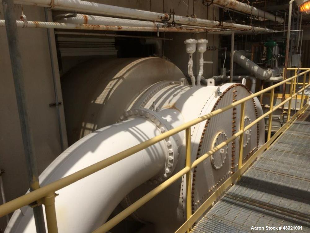 Used General Electric Steam Turbine Generator 6