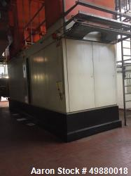 Solar 4 MW natural gas steam turbine, type Cantataur 50 SoloNOx, 4200 Kw. 149650 RPM. 510 deg C. (95...