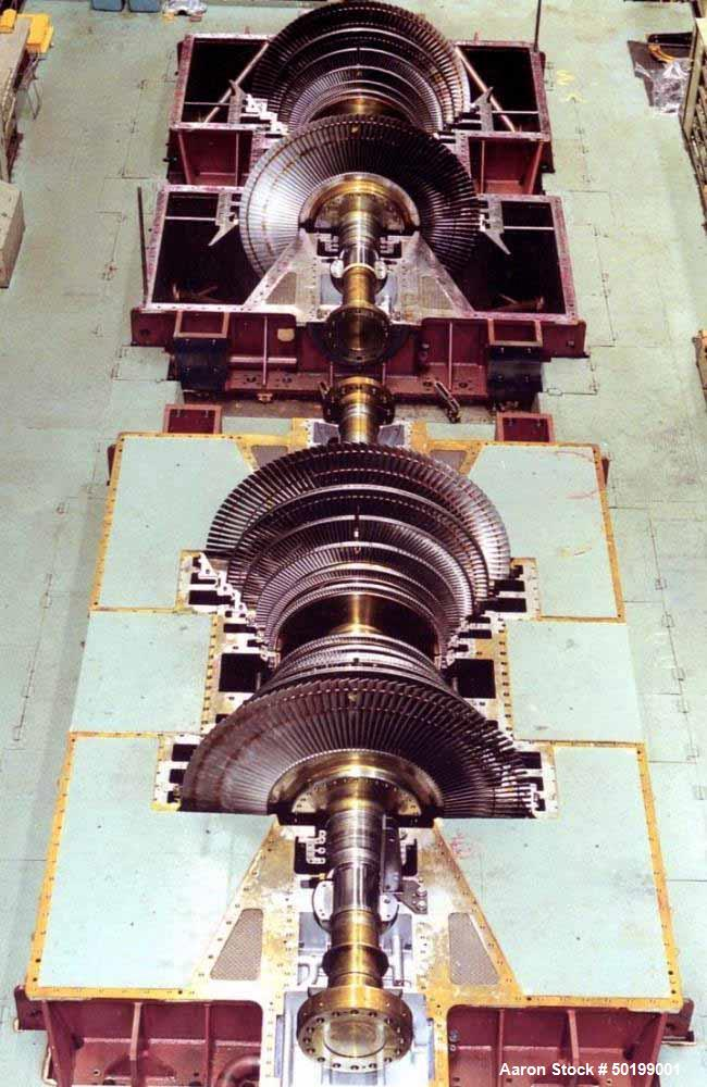 Unused- Mitsubishi 150 MW Geothermal Steam Turbine Generator.