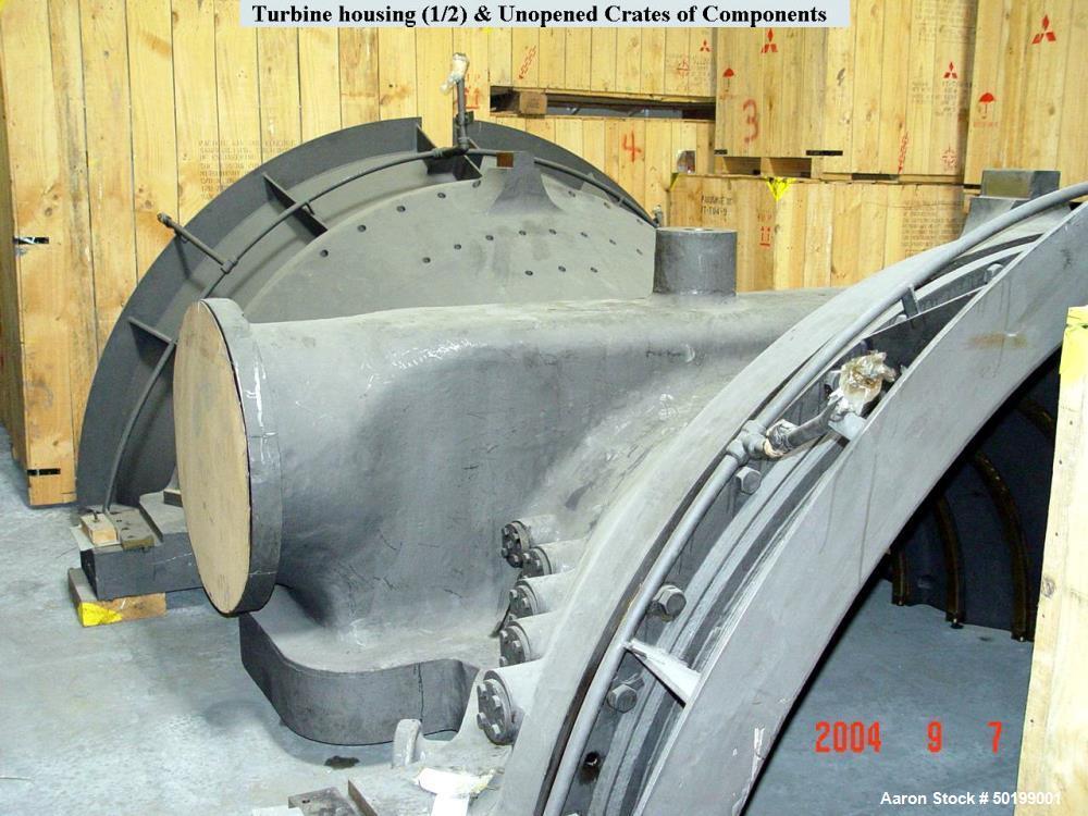Unused- Mitsubishi 150 MW Geothermal Steam Turbine Generator.