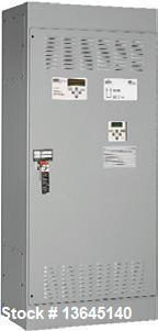 New-Asco 4000 Amp ATS, 4000 series power transfer switch. 3 pole, 277/480 (600 volt maximum) UL 1008 / CSA approved. Two (2)...
