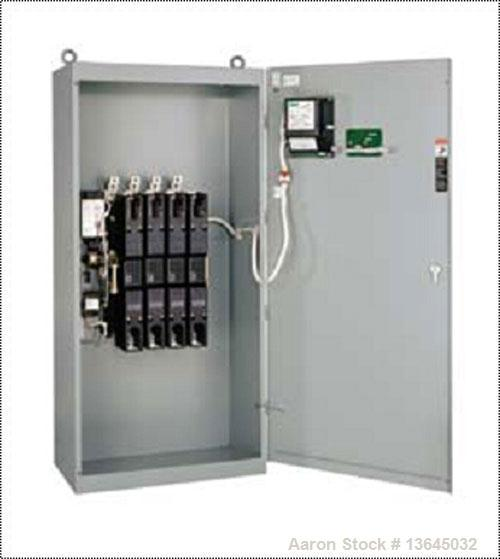 Unused-New Asco 1200 Amp ATS, series 300 power transfer switch. 3 pole, 600 volt maximum, Nema 1 enclosure, UL 1008 approved.