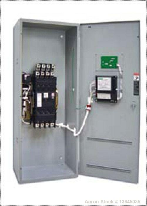 Unused-New Asco 400 Amp ATS, series 300 power transfer switch. 3 pole, set up for 3/60/208V.  Nema 1 enclosure, UL 1008 appr...