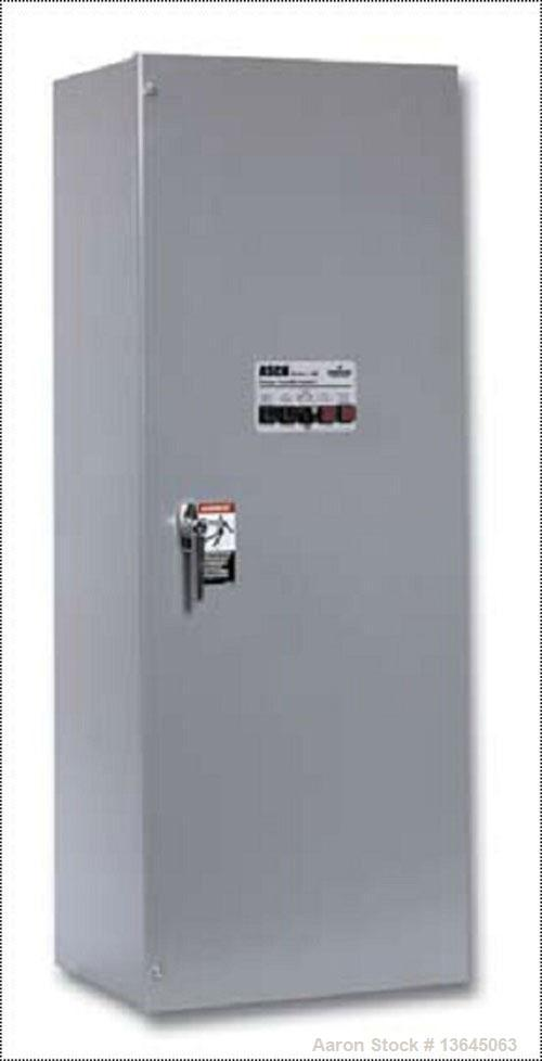 New Asco 400 Amp Ats  Automatic Transfer Switch