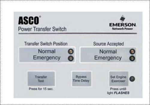 Asco 3000 Amp Automatic Transfer Switch.