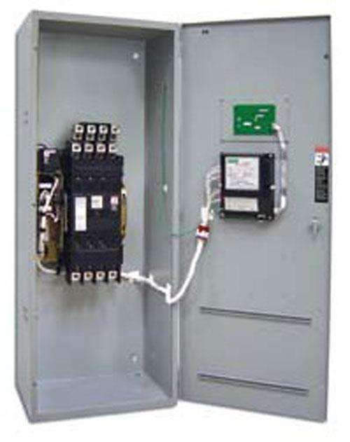 New- Asco 800 Amp ATS, Automatic Transfer Switch, Series 300 Power Transfer Switch. 3 Pole, 208/240/480/600V, Nema 1 enclosu...