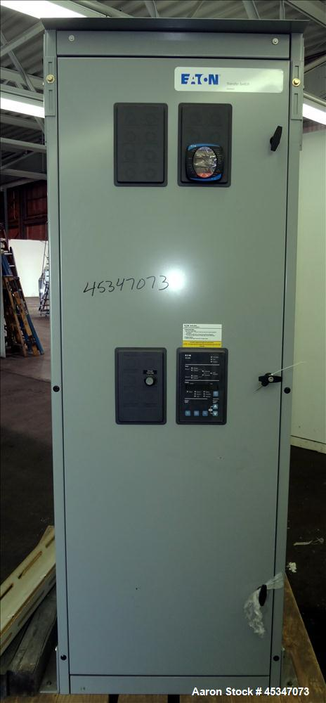 Used Eaton 600 Amp Automatic Transfer Switch Ca