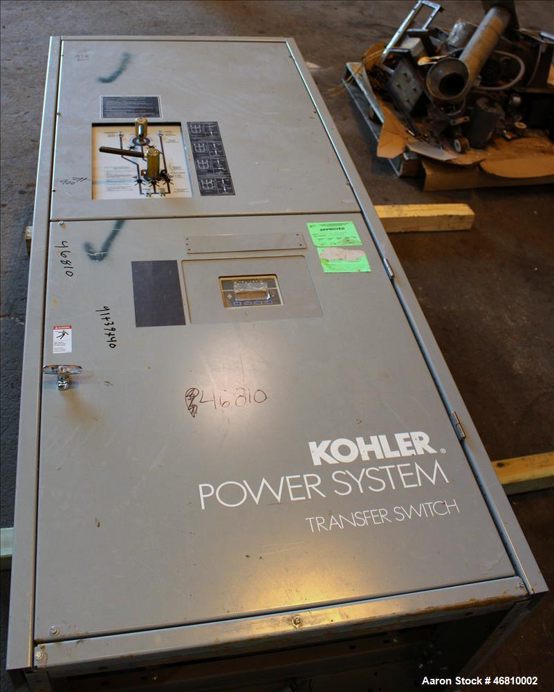 Used Kohler 800 Amp Ats Bypass Isolation Automa Transfer Switch For Generator View Automatic