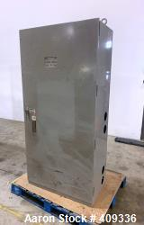 Used- Asco 800 Amp Automatic Transfer Switch, Series 300, Cat# H003000030800N10C. UL Listed cabinet. 3/60/480 Volt. Serial# ...