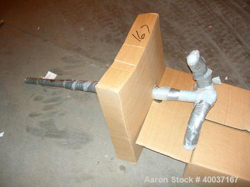 Used-Used: Approximately 100 gallon 3 blade retreat curve agitator