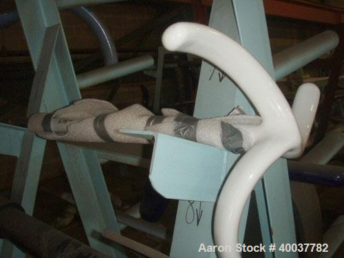 Used- Reglassed 3000 Gallon RW Glass Lined 3-Blade Retreat Curve Agitator